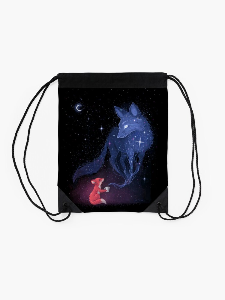 Alternate view of Celestial Drawstring Bag
