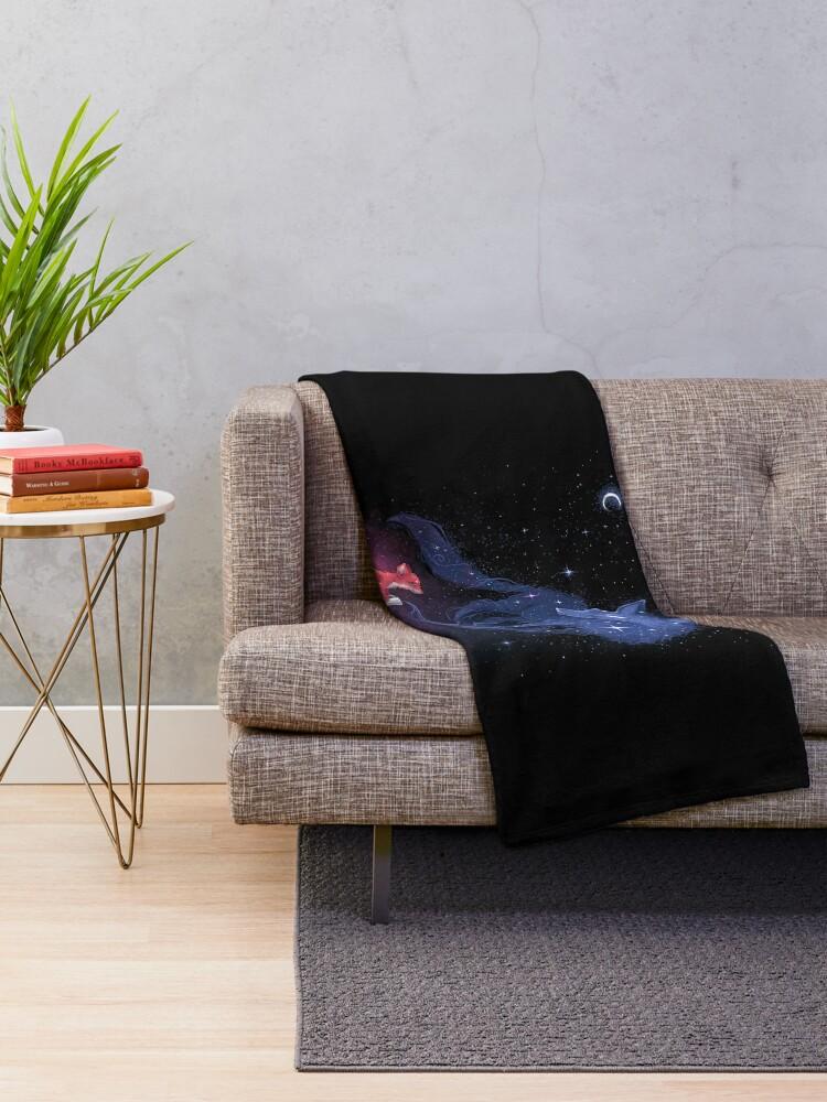 Alternate view of Celestial Throw Blanket