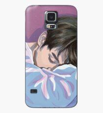 Schlafender Hase - BTS Jungkook Hülle & Klebefolie für Samsung Galaxy