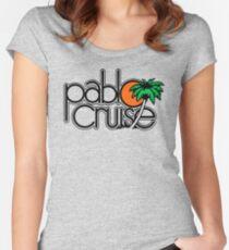 PABLO CRUISE ROCK BAND Tailliertes Rundhals-Shirt