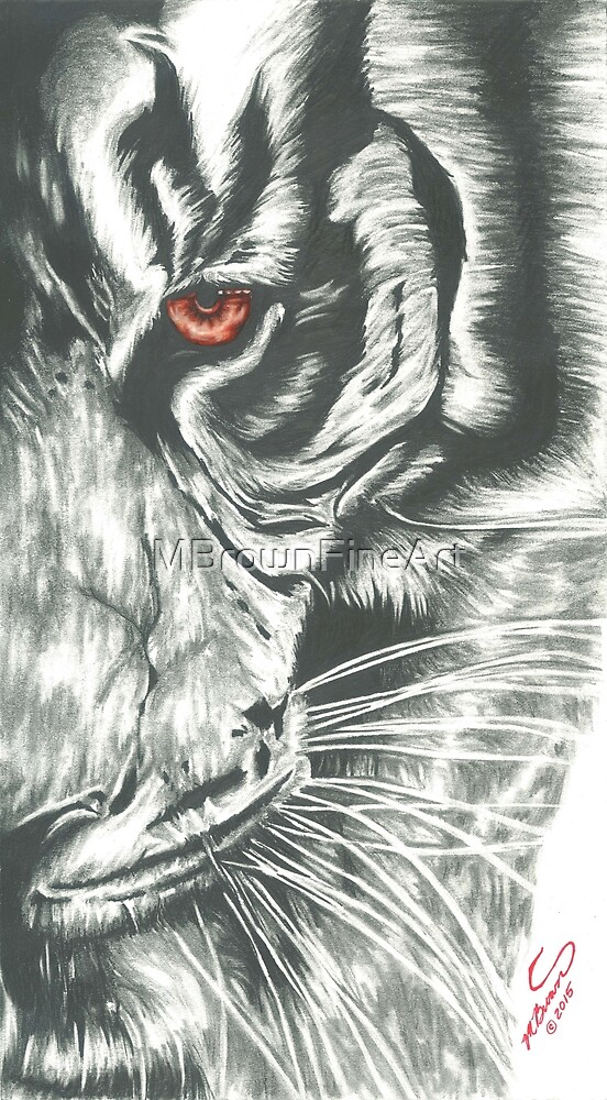 Eye of the Tiger by MBrownFineArt