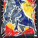 Blue Bull by johnny hancen