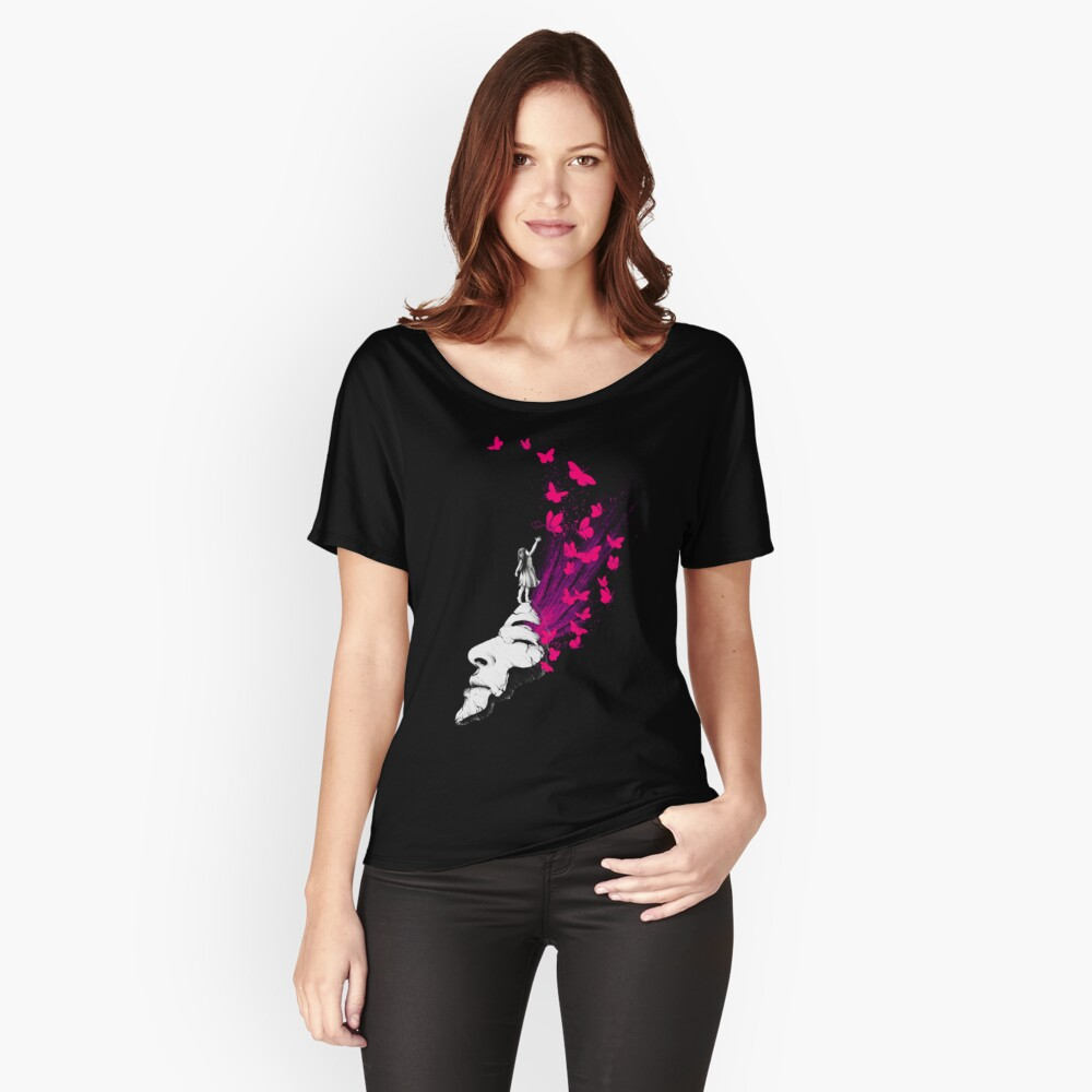 Portal zum Glück Loose Fit T-Shirt