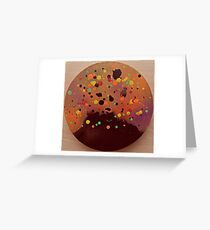 Volcanic Eruption Greeting Card