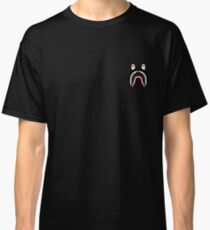 Camiseta clásica Impresión de tiburón Bape