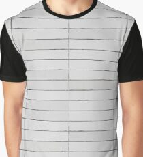 Stone Tiles Texture Graphic T-Shirt