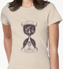 Time to Explore Women's Fitted T-Shirt