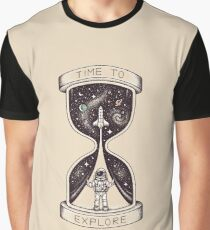 Time to Explore Graphic T-Shirt