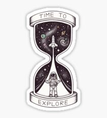 Time to Explore Sticker