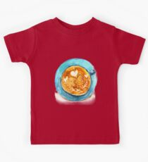 hearts and coffee Kids Clothes