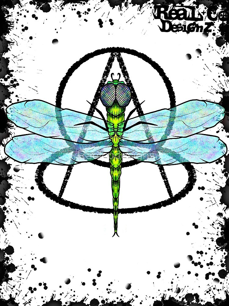 Dragon fly poster  by Raelcodesigns