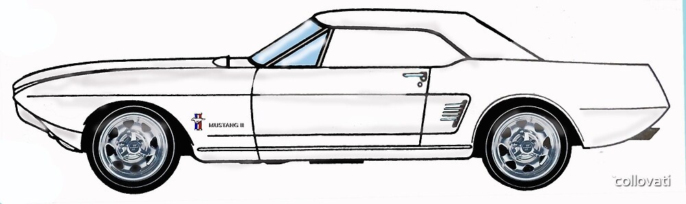 1963 Ford Mustang II Concept car by collovati