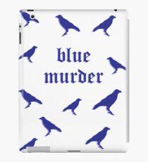 Blue Murder of Crows  iPad Case/Skin