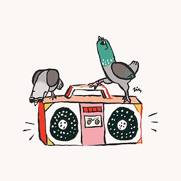 Boombox Pigeon Party de Theysaurus
