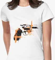 Colt - orange Womens Fitted T-Shirt