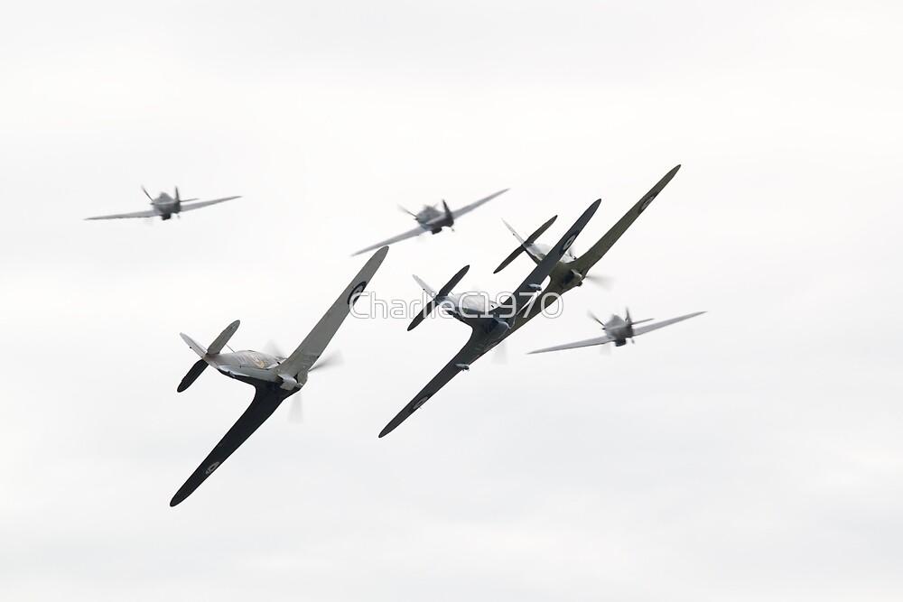 Hawker Hurricane's by CharlieC1970