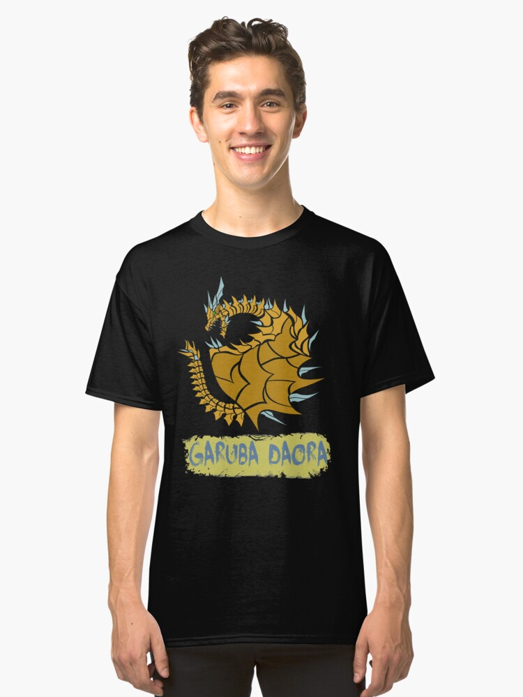 The Circular Gold Dust Dragon Classic T-Shirt Front