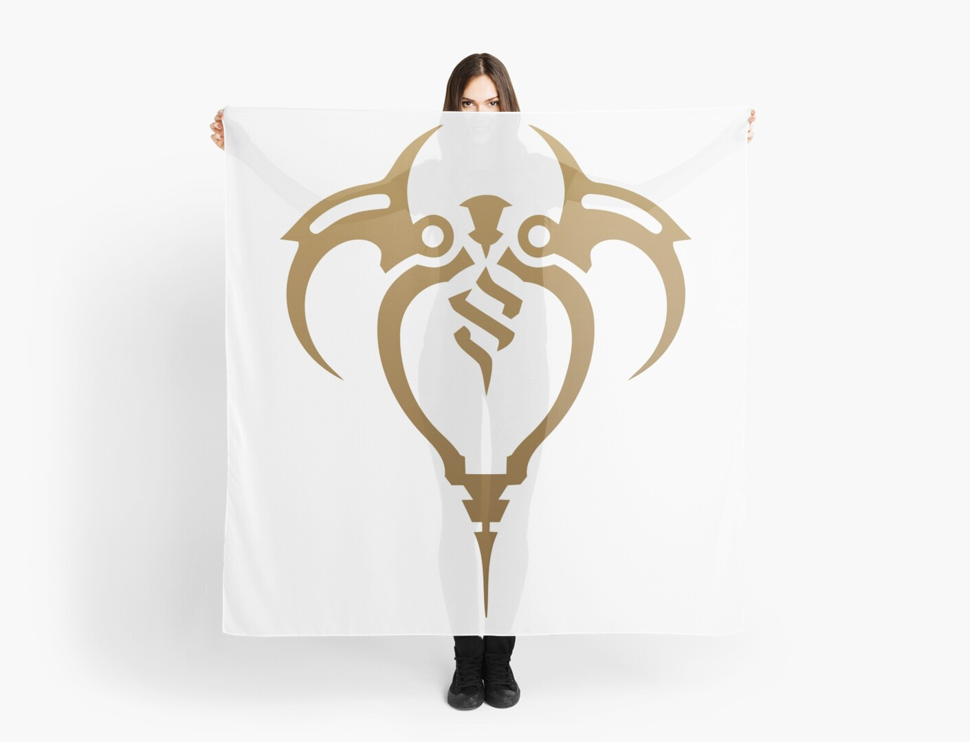 Zaun Crest League Of Legends Scarves By An7onyo Redbubble