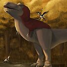 Feathered T.rex by UmbreoNoctie