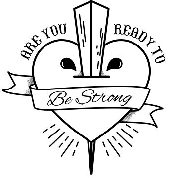 Are You Ready to Be Strong Buffy Graphic by TotalTeeGeek