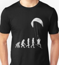 Kitesurfing Evolution Unisex T-Shirt