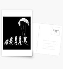 Kitesurfing Evolution Postcards