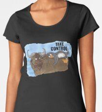 Linux TUX Mascot Women's Premium T-Shirt