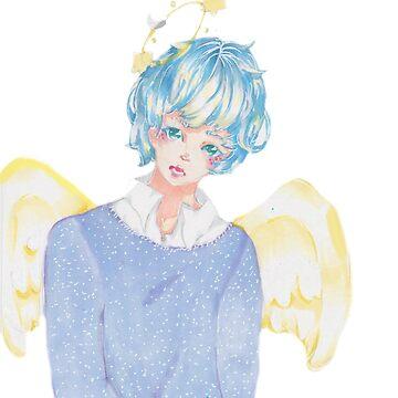Angel boy  by GailYukino