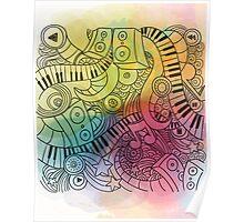 Sheet Music piano  Poster