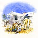 The Farrier by Roland Harvey