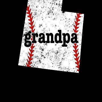 Great Grandpa Baseball Utah Softball Grandpa Shirt by shoppzee