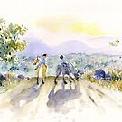 Dusk Ride by Roland Harvey