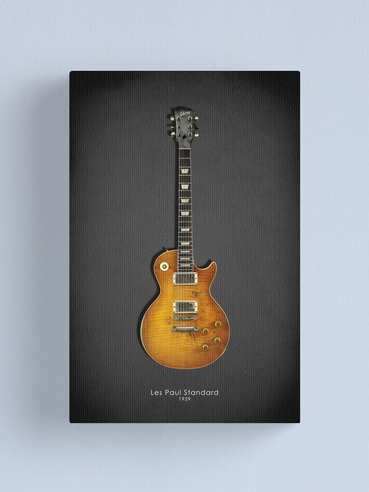 Alternate view of Les Paul Standard Guitar Canvas Print