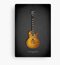 Les Paul Standard Guitar Canvas Print