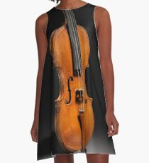 Historical Italian Cello Photograph (1560) A-Line Dress