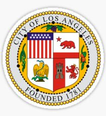 Seal of Los Angeles  Sticker