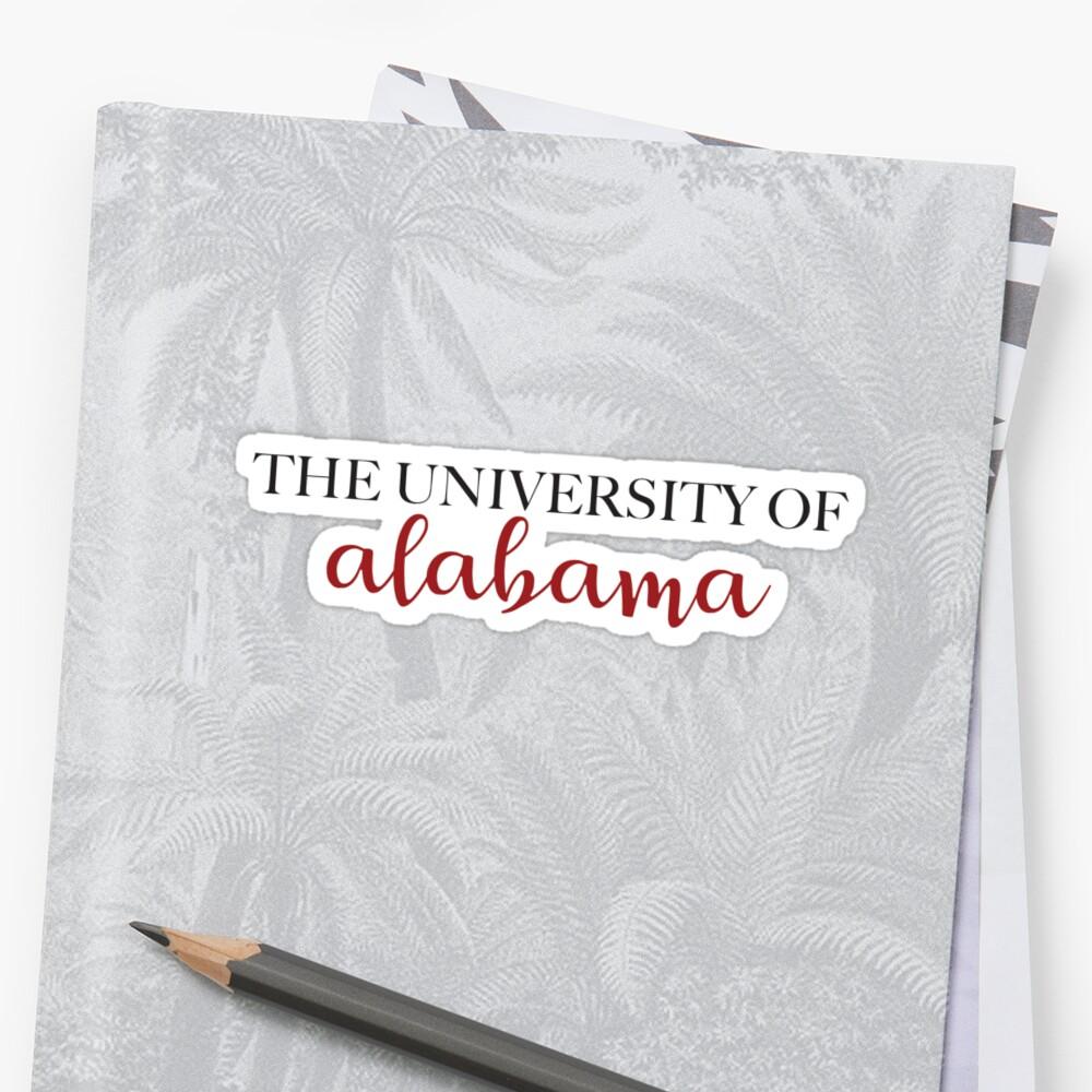 University of Alabama - UA by jfouse