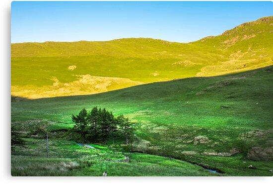 Lake District National Park Landscape,Cumbria,Uk,spring 2017. by JazzLove