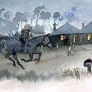 Moonlight Gallop by Roland Harvey