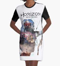 Horizon Graphic T-Shirt Dress