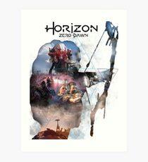 Horizont Kunstdruck