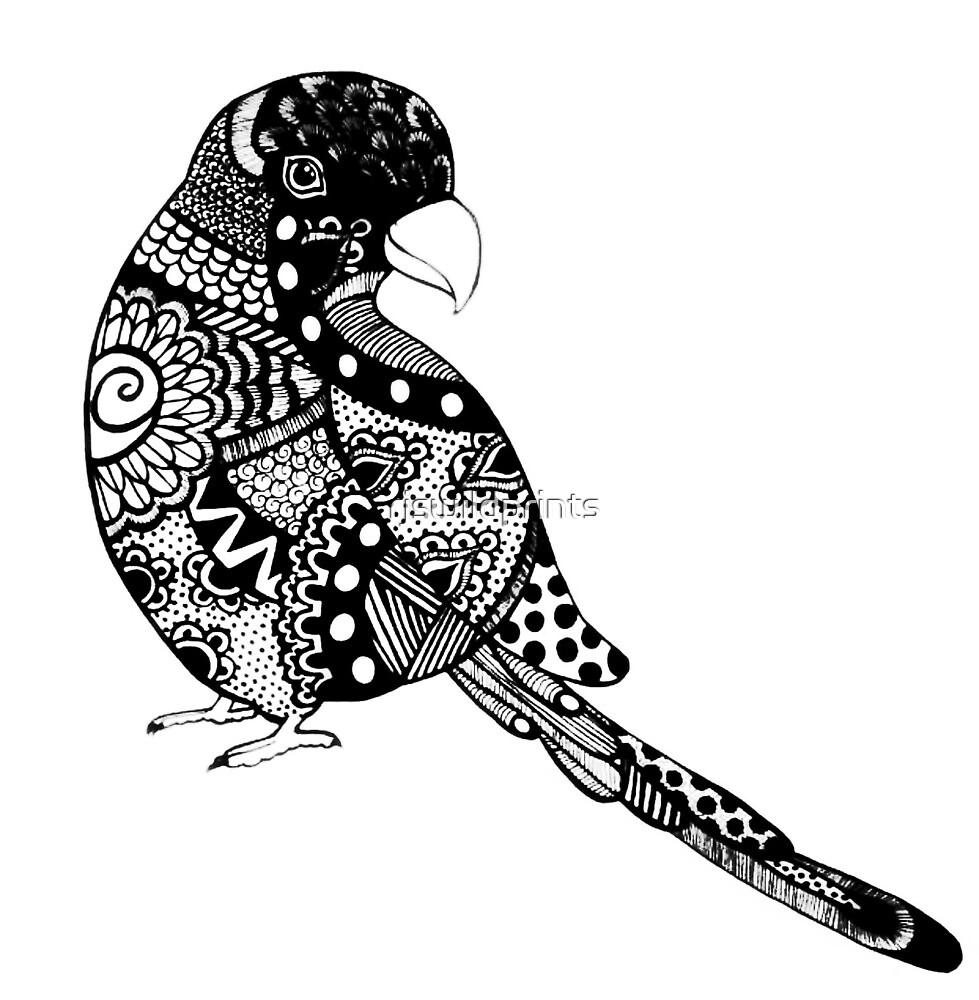 Lorikeet Bird by rjswildprints