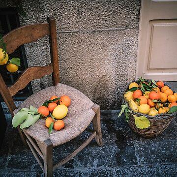 Fruit on Chair – Mallorca / Majorca by lesslinear
