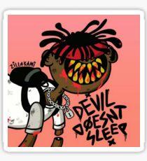 Devil Doesn't Sleep Sticker