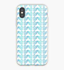 Swan Pattern iPhone Case