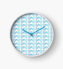 Swan Pattern Clock
