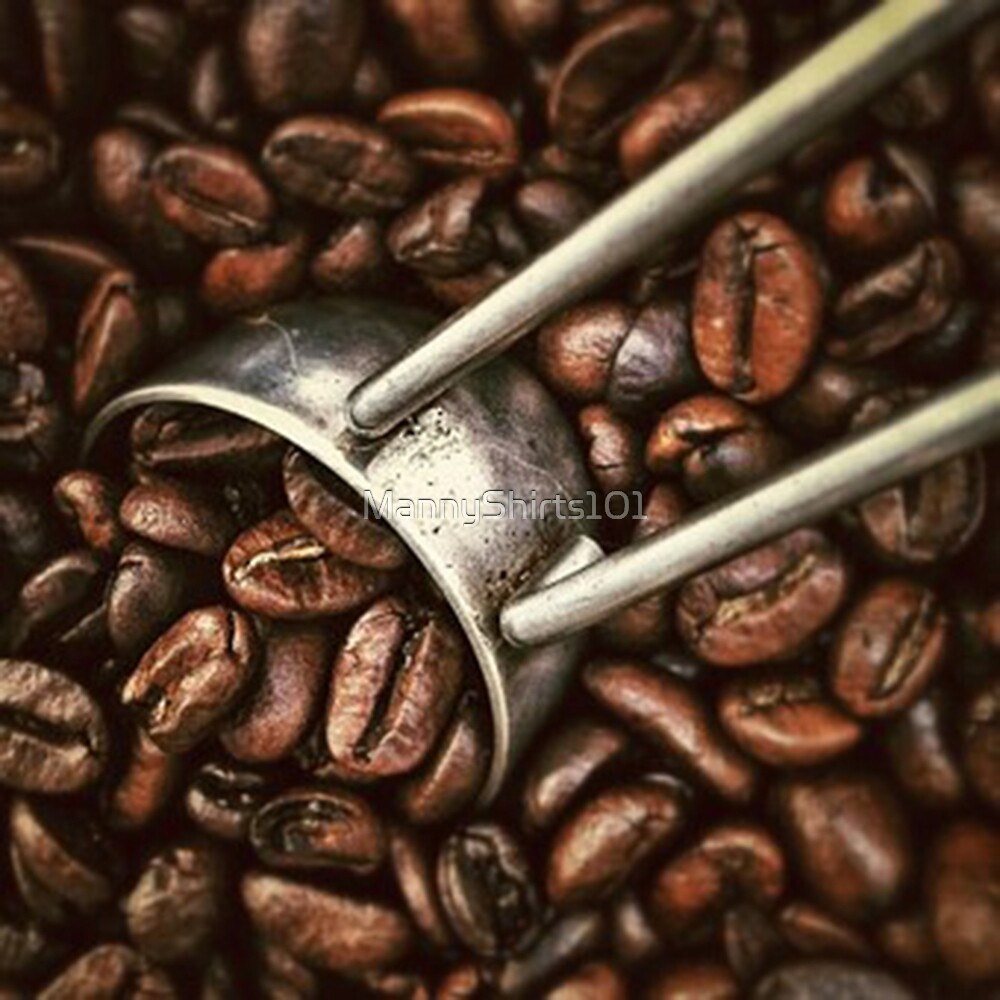 Coffee coffee beans by MannyShirts101