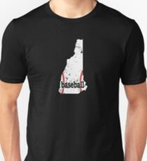 New Hampshire Women Men Baseball Fan Shirt Unisex T-Shirt