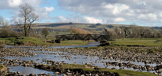 Bridge over Artle Beck by mikebov