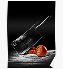 Butcher Knife & the Tomato Poster